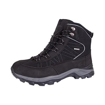 Mountain Warehouse Boulderメンズ冬防水Trekker Boots グレー