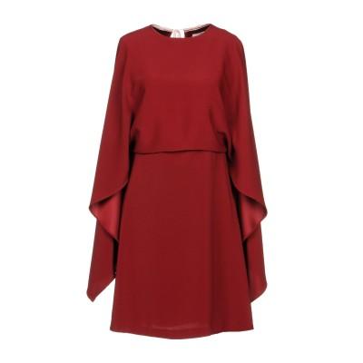 メルシー ..,MERCI ミニワンピース&ドレス ボルドー 46 ポリエステル 95% / ポリウレタン 5% ミニワンピース&ドレス