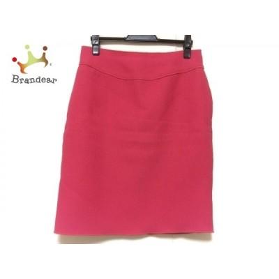 ヒロココシノ HIROKO KOSHINO スカート サイズ38 M レディース ピンク       スペシャル特価 20200923