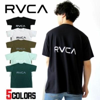 RVCA【ルーカ】BACK RVCA TEE Tシャツ 半袖 バックプリント メンズ レディース ユニセックス カジュアル ストリート スポーツ ロゴ ギフ