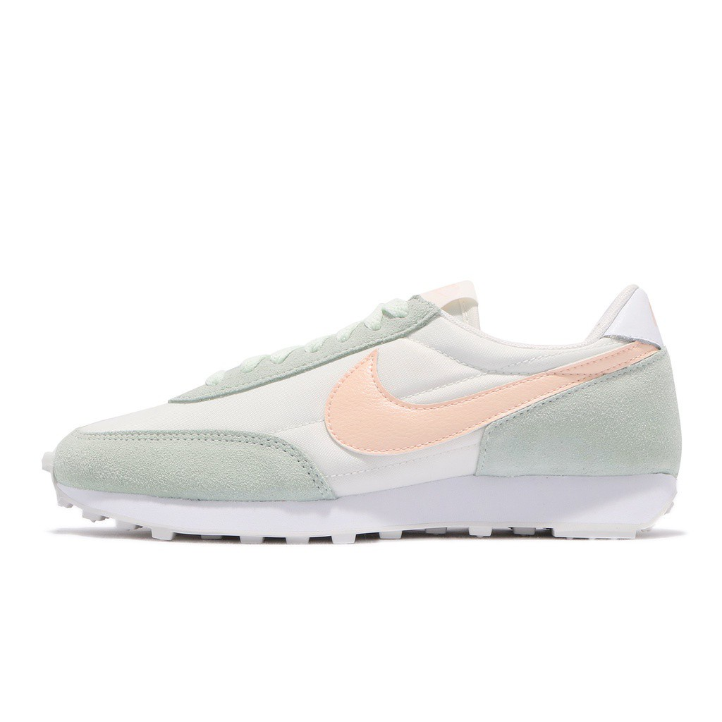 Nike 休閒鞋 Daybreak 粉紅 粉綠 女鞋 麂皮 Dbreak 復古慢跑鞋 【ACS】 CK2351-107