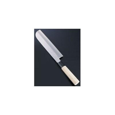SA佐文 銀三鏡面仕上 鎌型薄刃 18cm ASB43018