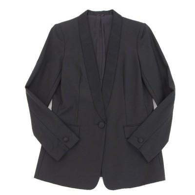 超美品 ANAYI アナイ ジャケット 1つボタン シングル 黒 size38 レディース 260179
