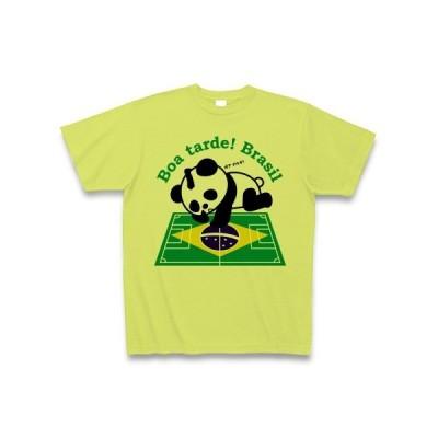 こんにちわ! ブラジル Tシャツ(ライトグリーン)