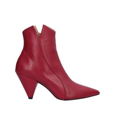 WO MILANO ショートブーツ  レディースファッション  レディースシューズ  ブーツ  その他ブーツ レッド