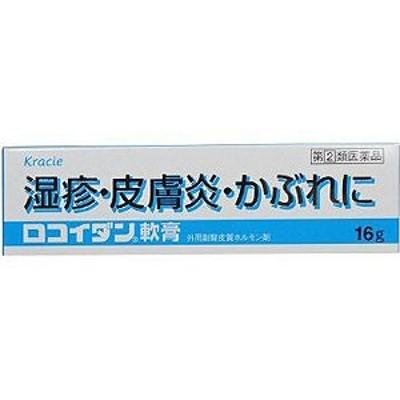 【第2類医薬品】 ロコイダン軟膏 16g ※セルフメディケーション税制対象商品