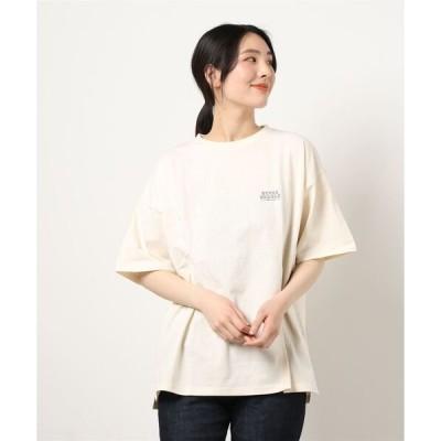 tシャツ Tシャツ 【PEANUTS】 オーバーサイズ クルーネック半袖Tシャツ