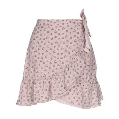 PAOLO CASALINI ミニスカート ライトピンク S コットン 80% / シルク 20% ミニスカート