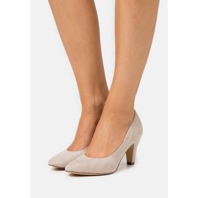タマリス ヒール レディース シューズ COURT SHOE - Classic heels - dune