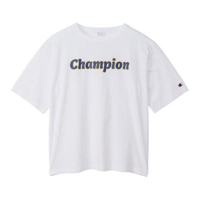 Champion チャンピオン S/S T-SHIRT CW-T311 010 レディーススポーツウェア スポーツカジュアルトップス レディース 10 セール