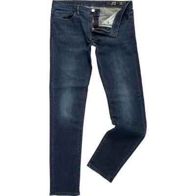 アルマーニ Armani Exchange メンズ ジーンズ・デニム スキニー・スリム ボトムス・パンツ J13 Dark Core Wash Slim Fit Jeans Navy