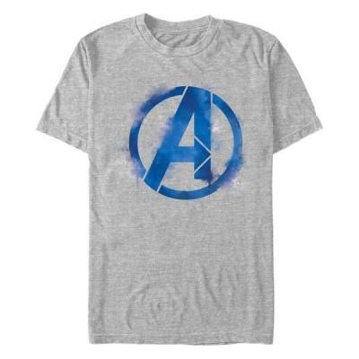 マーベル Tシャツ トップス メンズ Men's Avengers Endgame Spray Paint Logo, Short Sleeve T-shirt Athletic H