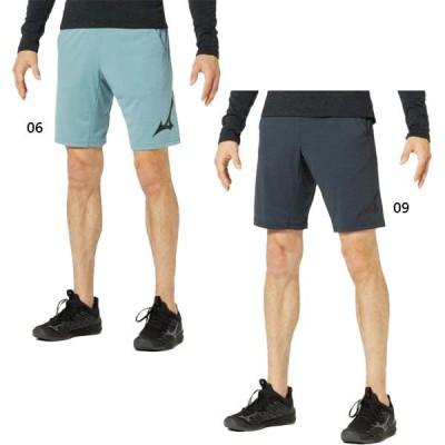ミズノ メンズ ニットハーフパンツ ボトムス 半ズボン 吸汗速乾 ランニング ジム トレーニング 32MD9511