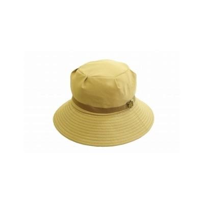 ハット 7720184 ベージュ レディース 婦人 帽子 ポケッタブル サイズ調節可 紫外線対策 シンプル ファッション UVケア ネット通販 オールシーズン