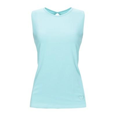 FRACOMINA T シャツ スカイブルー S コットン 96% / ポリウレタン 4% T シャツ