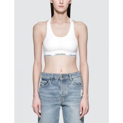 カルバンクライン Calvin Klein Underwear レディース トップス Cotton Brassiere White