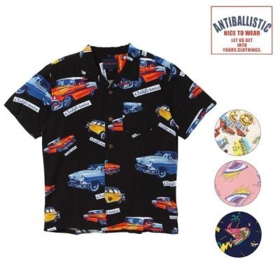 ANTIBALLISTIC アンティバルリスティック   202AN1SH001 メンズ 半袖 シャツ 開襟シャツ HH2 E15