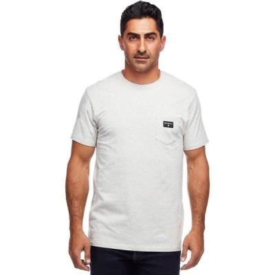 ブラックダイヤモンド Black Diamond メンズ Tシャツ トップス Pocket Label T - Shirt Birch Heather