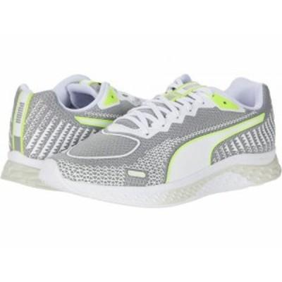 PUMA プーマ レディース 女性用 シューズ 靴 スニーカー 運動靴 Speed Sutamina 2 Gray Violet/Puma White/Fizzy Yellow【送料無料】