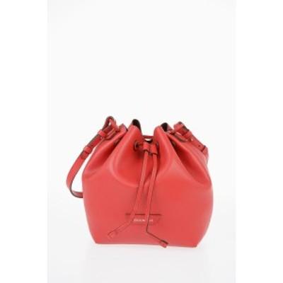 EMPORIO ARMANI/エンポリオ アルマーニ Red レディース EMPORIO Leather Bucket Bag dk
