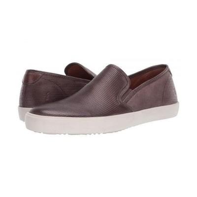 Frye フライ メンズ 男性用 シューズ 靴 スニーカー 運動靴 Brett Perf Slip-On - Slate Antique Tumbled Veg Tan