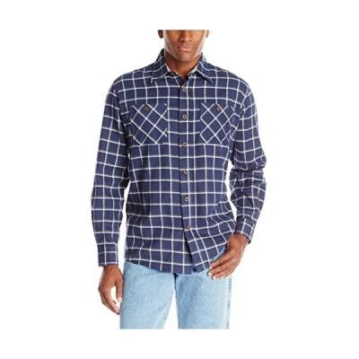 Wrangler (ラングラー) メンズ長袖フランネルシャツ US サイズ: 2X カラー: ブルー