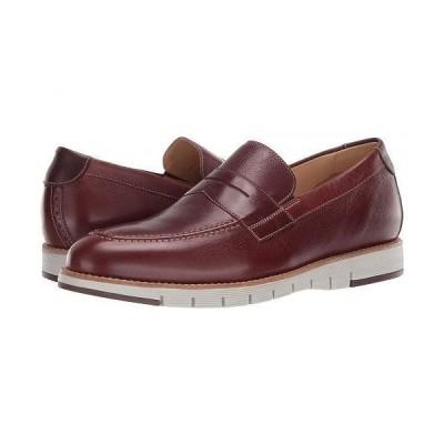 J&M EST. 1850 メンズ 男性用 シューズ 靴 ローファー Martell Penny - Mahogany