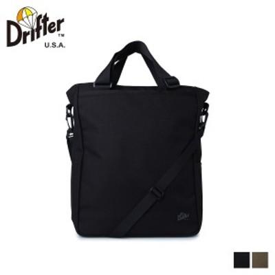 ドリフター Drifter バッグ トートバッグ ショルダー メンズ レディース UTILITY TOTE ブラック カーキ DFV0600 [9/29 新入荷]