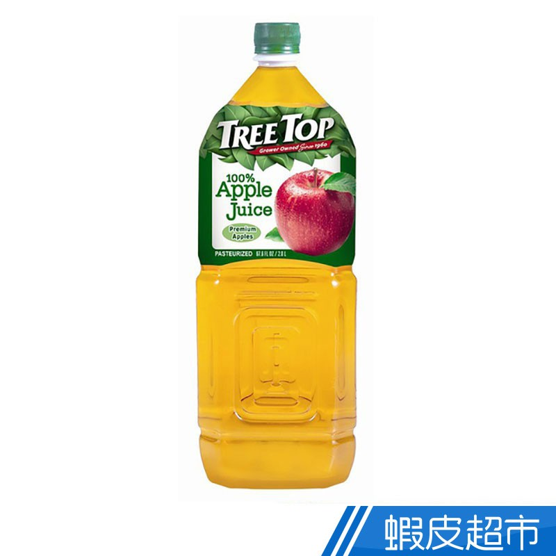 TREE TOP 樹頂 100%純蘋果汁 2公升  現貨 蝦皮直送