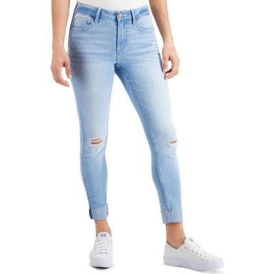 ヴィゴス Vigoss Jeans レディース ジーンズ・デニム ボトムス・パンツ Roll-Cuff Cropped Skinny Jeans Light Wash