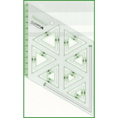 送料無料 クロバー ピーステンプレート 正三角形 57-998 b03