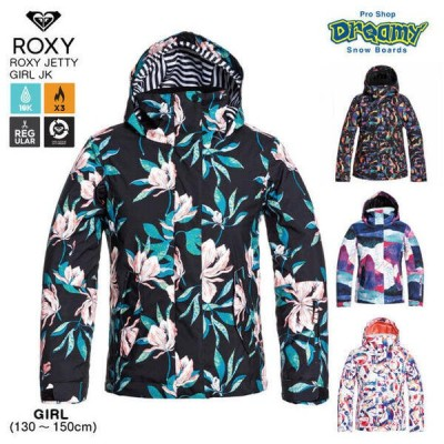 ROXY ロキシー ROXY JETTY GIRL JK 15K REGULAR FIT ERGTJ03101 キッズ スノージャケット 130-150cm DRY FLIGHT WARM FLIGHT ICポケット 2021WINTER 正規品
