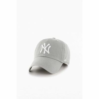 フォーティセブン 47 メンズ キャップ 帽子 New York Yankees Classic Baseball Hat Light Grey