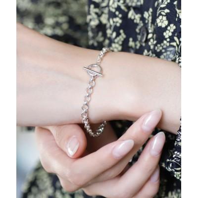 ANEMONE / シルバーチェーンブレスレット[B][Silver plating] WOMEN アクセサリー > ブレスレット