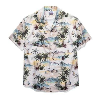 アロハシャツ メンズ 半袖シャツ グラフィック 半袖 メンズ アロハシャツ メンズファッション トップス カジュ 春夏シリーズ 大人気
