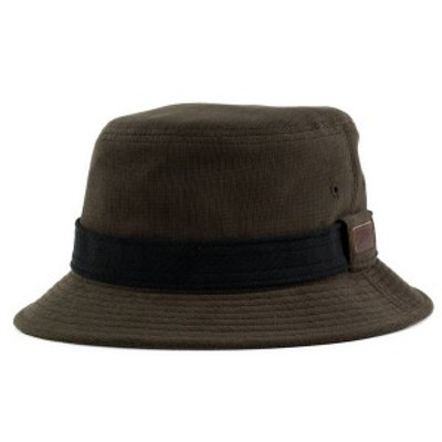ボルサリーノ borsalino ハット メンズ 帽子 サハリ サファリ バケットハット パイル地 秋冬 ブラウン 茶