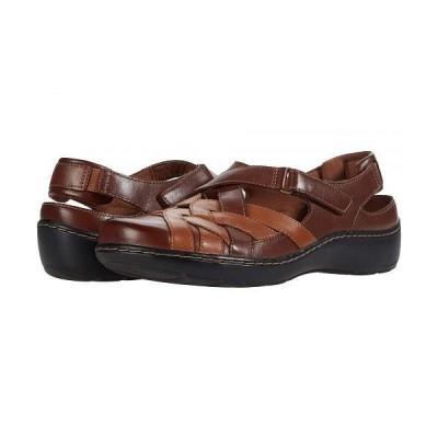 Clarks クラークス レディース 女性用 シューズ 靴 サンダル Cora Dream - Tan Leather Combination