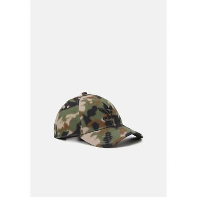 アディダスオリジナルス 帽子 メンズ アクセサリー CAMO UNISEX - Cap - black
