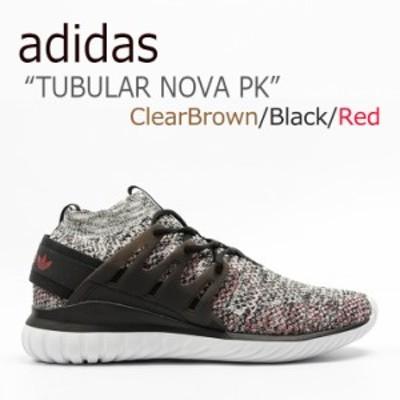 アディダス チューブラー スニーカー adidas メンズ TUBULAR NOVA PK ノヴァ Clear Brown クリアブラウン BB8409 シューズ