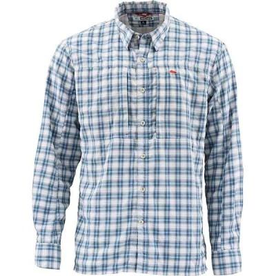 シムズ メンズ シャツ トップス Simms Men's BugStooper LS Shirt