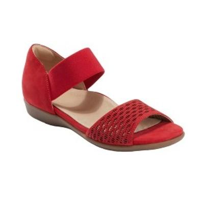 アース レディース サンダル シューズ Women's Alder Amora Stretch Sandal Bright Red