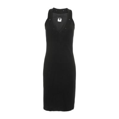 ILARY ミニワンピース&ドレス ブラック S レーヨン 95% / ポリウレタン 5% ミニワンピース&ドレス