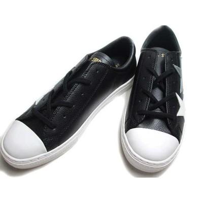 コンバース CONVERSE オールスター クップ トリオスター OX ブラックシルバー メンズ 靴