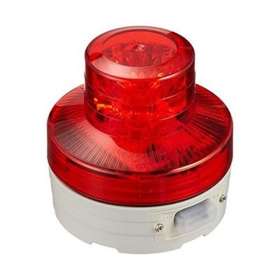 日動工業 NU-AR 電池式LED回転灯 ニコUFO 常時点灯タイプ 赤 12081 高さ(mm):75径(mm):76