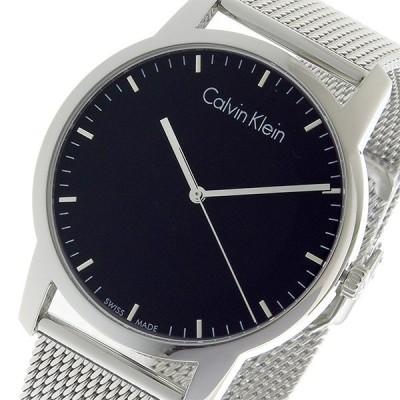 カルバン クライン CALVIN KLEIN クオーツ メンズ 腕時計 K2G2G121 ブラック ブラック