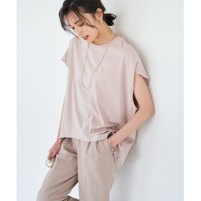 RIVE DROITE / 【WEB限定】ドルマンUネックカットソー WOMEN トップス > Tシャツ/カットソー