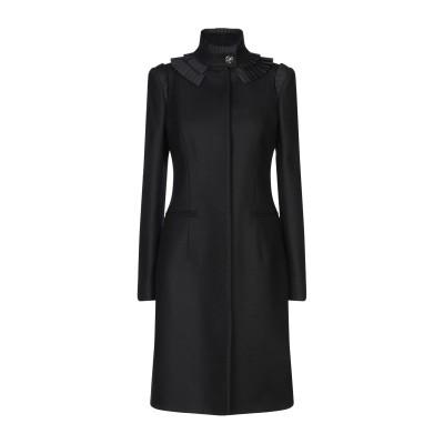 ジャストカヴァリ JUST CAVALLI コート ブラック 40 ウール 80% / ナイロン 20% コート
