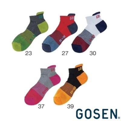 GOSEN◆2019年12月下旬発売 レディース ショートソックス F2003 ゴーセン ソックス