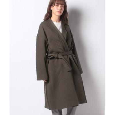 (MARcourt/マーコート)【mizuiro ind】quilt long gown/レディース CGRAY