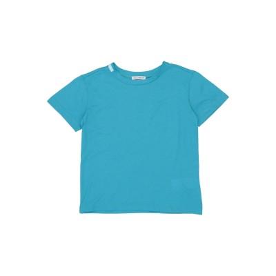 ドルチェ & ガッバーナ DOLCE & GABBANA T シャツ アジュールブルー 3 コットン 100% T シャツ